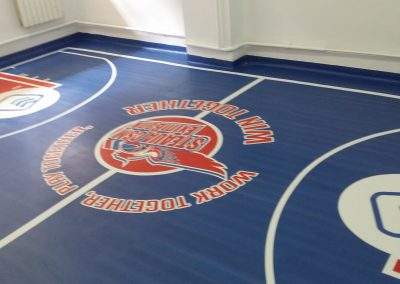 Autocolant floorgraphics